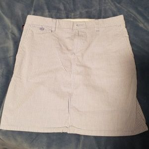 Polo jeans co gingham skirt